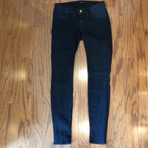 J Brand Mama J skinny Maternity jeans bluebird 25